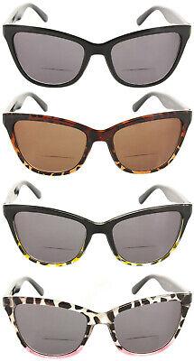 Reading Glasses Bifocal Sunglasses Cateye Oversized Readers for (Sunglasses Readers Women)
