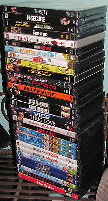 18 Brand New DVDS @ Low Low Prices