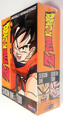 Dragon Ball Z Season 1 & 2 DVD TV Show One Two Dragonball Remastered BRAND NEW