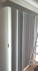 Verticle Blinds suit Window/Slider2800 (3200W x 2030L) Inc pelmet Chuwar Brisbane North West Preview