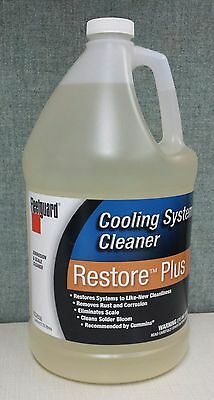 Fleetguard Restore Plus Coolant System Cleaner   1 Gallon   Cc2638 Wtp 40