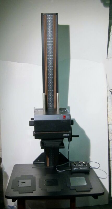 RARE ZONE VI 5X7 ENLARGER with VARIABLE CONTRAST HEAD