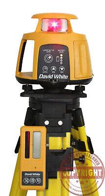 David White Ael-900 Rotary Laser Leveltransitspectratopcontrimblehilti