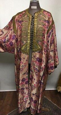 Karneval Kostüm - Damen Kimonomatel indisch Gr. 40/44 gefüttert (Bestickte Damen Kostüm)