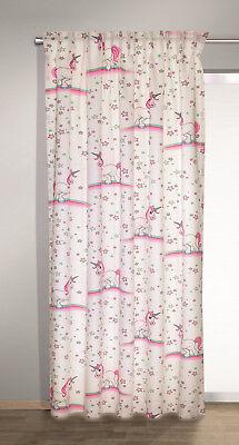 Sterne Deko-Stoff BxH135x245cm mit verdeckten Schlaufen rosa (Rosa Kunststoff-schalen)