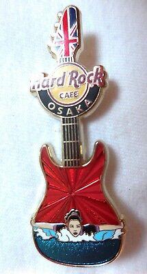 Hard Rock Cafe Osaka Mädchen der Spiele Gitarre'12 Pin - Le 100 Pins
