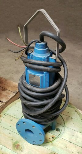 """Keen 10HP Non-Clog Pump 230V Single Phase 4"""" discharge 66"""