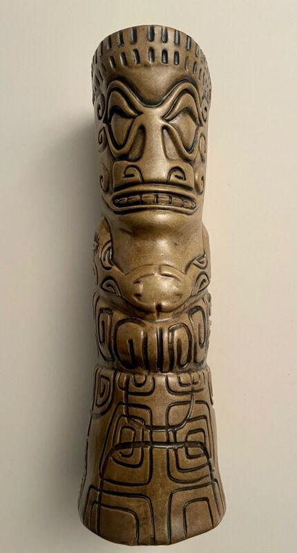 2015 custom Jungle Modern Ceramics Tahitian tower tiki mug for your tiki bar