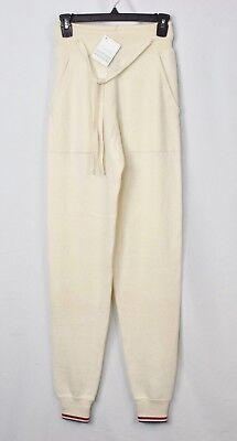 MSRP: $1325 NWT New Thom Browne 100% Cashmere Sweatpants Joggers Men's Small S