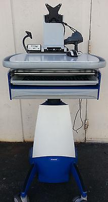Howard Computers Hi Care Mobile Nurse Work Station Cart