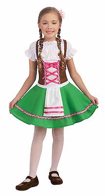 Child Hansel Gretel German Beer Maid Oktoberfest Costume