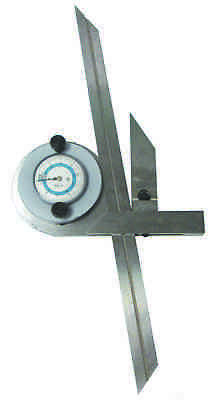 Universal Bevel Protractor With Dial Reading