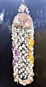 Attractive hand made 75cm sea shell chandelier ornament Cranbourne Casey Area Preview