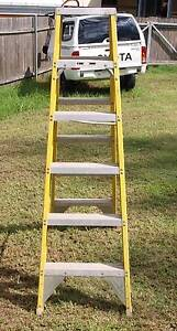Gorilla 1.8m 150kg Industrial Double Sided FibreGlass Step Ladder Kitchener Cessnock Area Preview