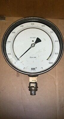 Enerpac 6 Pressure Gauge Removed From Press 10000psi