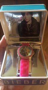 Girl's Justin Bieber Watch