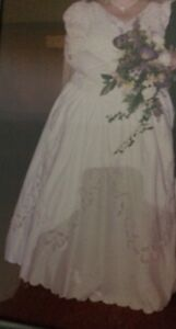 Full Figure Wedding Gown professionally dry cleaned