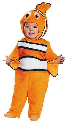 Nemo Prestige Kleinkinder Overall Kostüm und Kopfbedeckung Halloween - Nemo Kostüme Kleinkind
