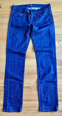 7 For All Mankind ROXANNE Skinny Jeans 26 x 30 Excellent 7 For All Mankind Jeans Roxanne