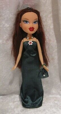 "Made to fit 9½"" BRATZ #10 Dress, Purse & Necklace Set, Handmade Doll Clothes"