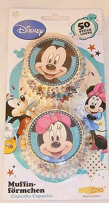 Muffinförmchen Disney Mickey & Minnie Maus Papierförmchen Muffin backen Cupcake  ()