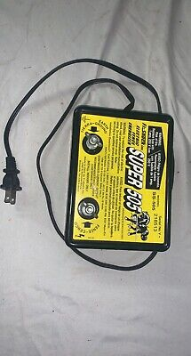 Super 505 Electric Fence Energizer - Model Ss-505 - Untested - Good Condition