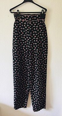 True Vintage Hose - extremely high waist - 80s