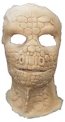 Lizard Foam Latex Face Adult Mask With Makeup Scary Look Halloween - Scary Halloween Makeup For Men