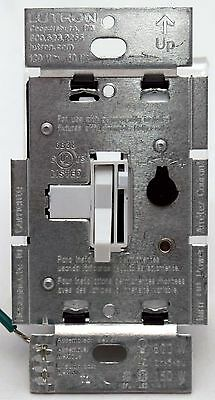 Lutron Toggler TGCL-153P-WH Single Pole/3-Way CL Dimmer Light Switch 120v WHITE