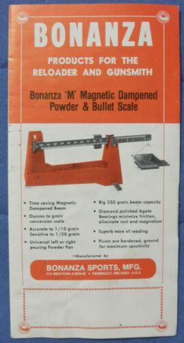 Bonanza Sports products brochure.