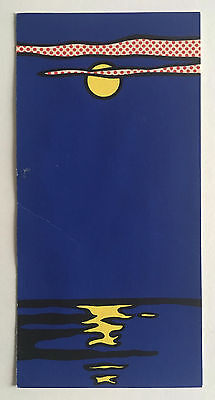 rare ROY LICHTENSTEIN 1968 silkscreen NIGHT SEASCAPE for Banner Multiples Inc