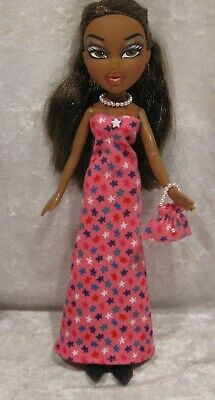 "Made to fit 9½"" BRATZ #16 Dress, Purse & Necklace Set, Handmade Doll Clothes"