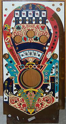 Bally Speakeasy - Pinball Playfield NOS