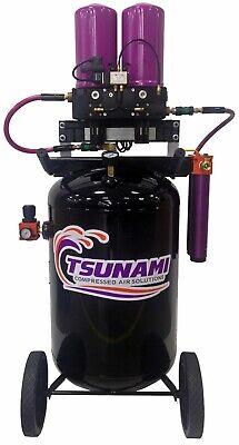 Tsunami Rove 40cfm Mobile Dryer For 10hp Air Compressors 30gallon Tank Wheel Kit
