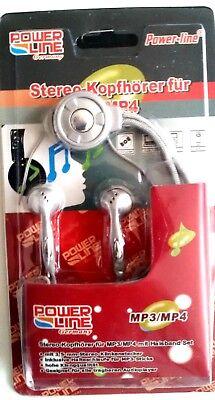 Stereo Kopfhörer für MP3-MP4 mit Halsband Set Neu und OVP Mp3 Mp4 Stereo Kopfhörer