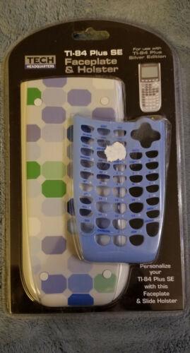 NEW TI-84 Plus SE Calculator Faceplate & Holster