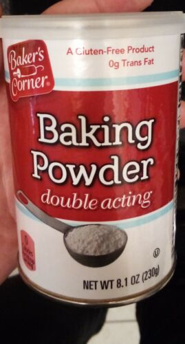 Double Acting Baking Powder 8.1 oz Can Best By 2022, FAST FREE USPS Shipping!