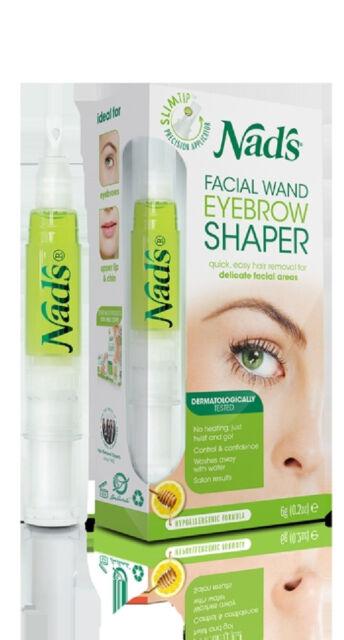 => Nads Natural Hair Removal Facial Wand Eyebrow Shaper 6 g
