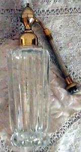 flacon de parfum en cristal vaporisateur marcel franck sans poire ebay. Black Bedroom Furniture Sets. Home Design Ideas