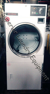 Speed Queen Single Pocket Dryer St025nbc 25lb 120v Gas Coin Reconditioned