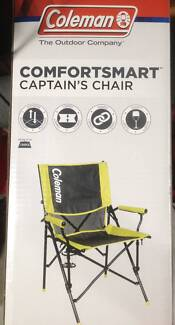 COLEMAN COMFORT SMART CAPTAIN'S CHAIR FOLDING CAMPING SPORT Engadine Sutherland Area Preview