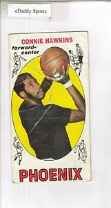 1969-70 TOPPS BASKETBALL #15 CONNIE HAWKINS PHOENIX RC ROOKIE CARD