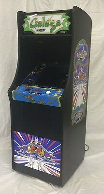 New Ms PacMan Galaga Arcade Game Multicade 60 games Full Size with Trackball