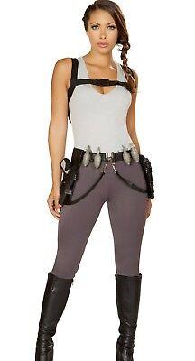 Lara Croft Costume Adult Tomb Raider Sexy Adult Treasure Huntress - L -](Lara Croft Costume)