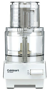 New Cuisinart DLC-10S Classic 7 Cup Food Processor-White