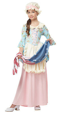 Betsy Ross Colonial Lady American Flag Child Costume (Colonial Costume Kids)