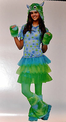 Miss Monster Junior Halloween Cute Costume Size 0-9 New! ](Cute Junior Girl Halloween Costumes)
