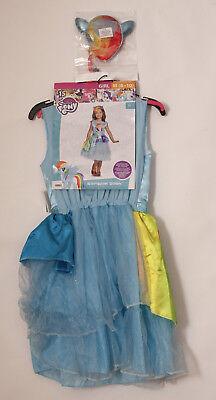 Rainbow Dash Dress (Girls Medium 8-10 My Little Pony Rainbow Dash Halloween Dress Costume &)