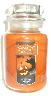 Yankee Candle TRICK OR TREAT Large Jar 22 oz Candle ~ FREE SHIP