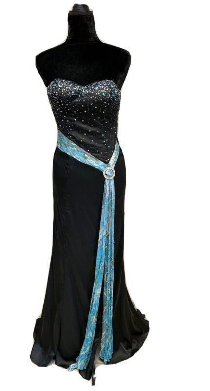 Size 2 Prima Donna Prom Party Homecoming Dance Formal Evening Gown Pageant Dress